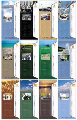 ROKAF calendrier design