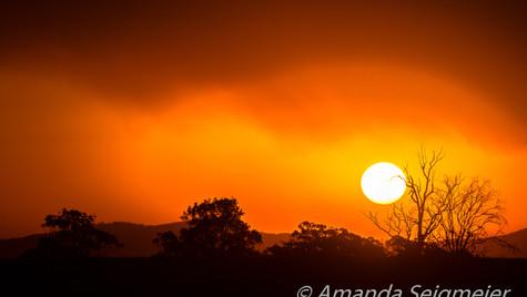 As the Sun Set - Smokey Sunset-1.JPG