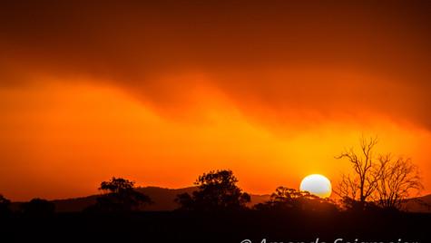 As the Sun Set - Smokey Sunset-2.JPG