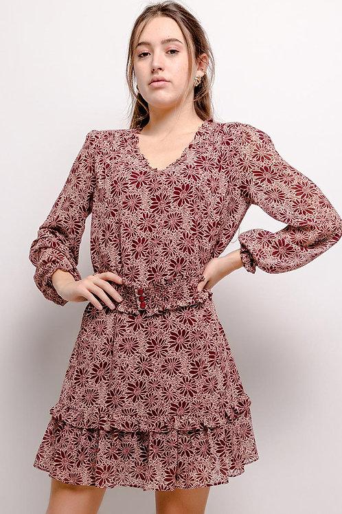 robe imprimé J9298
