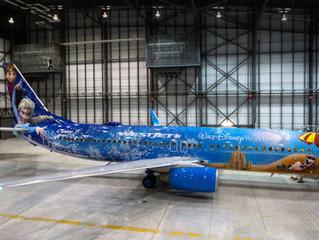 WestJet unveils new Disney Frozen-themed airplane