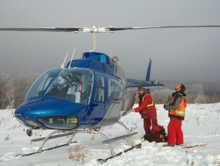 Four hurt in AESRD helicopter crash