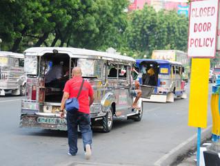 Pope embraces unique Philippines transportation method