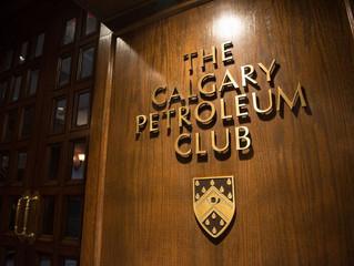 Trudeau talks energy at Calgary Petroleum Club