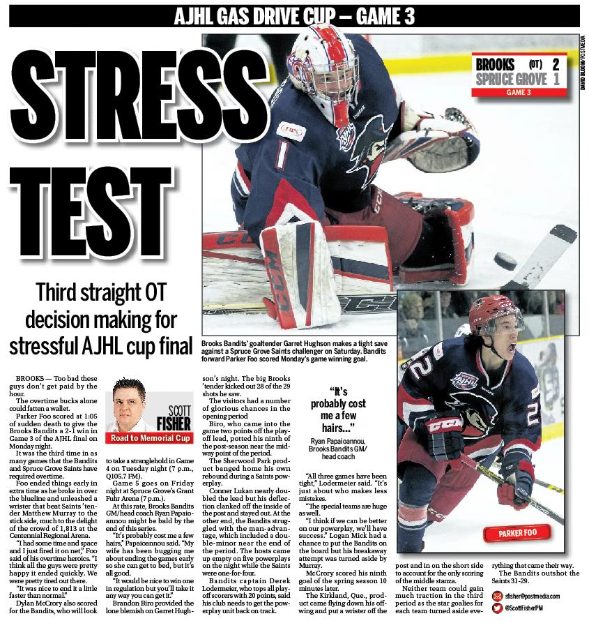 Calgary Sun — Thursday, April 21