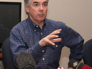 """Prentice welcomes party """"under new management"""""""