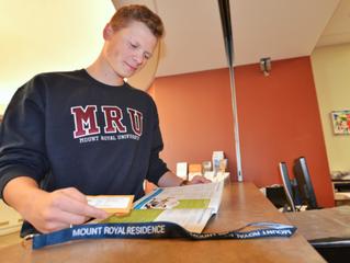 Calgary vacancy rates having little effect on university residence applications