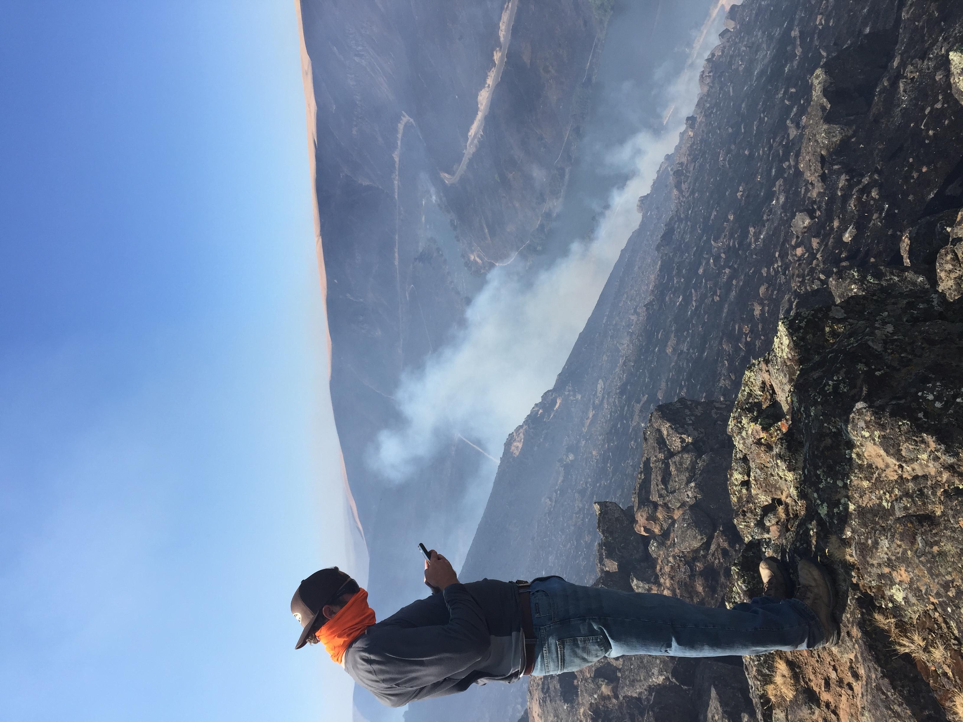 Evan at Substation fire 2018