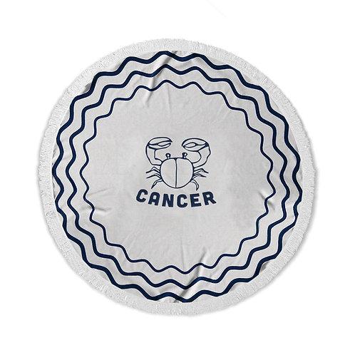 מגבת חוף עגולה - מזל סרטן