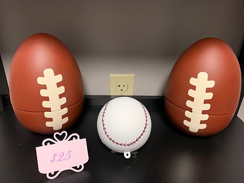 Gender Reveal Exploding Balls
