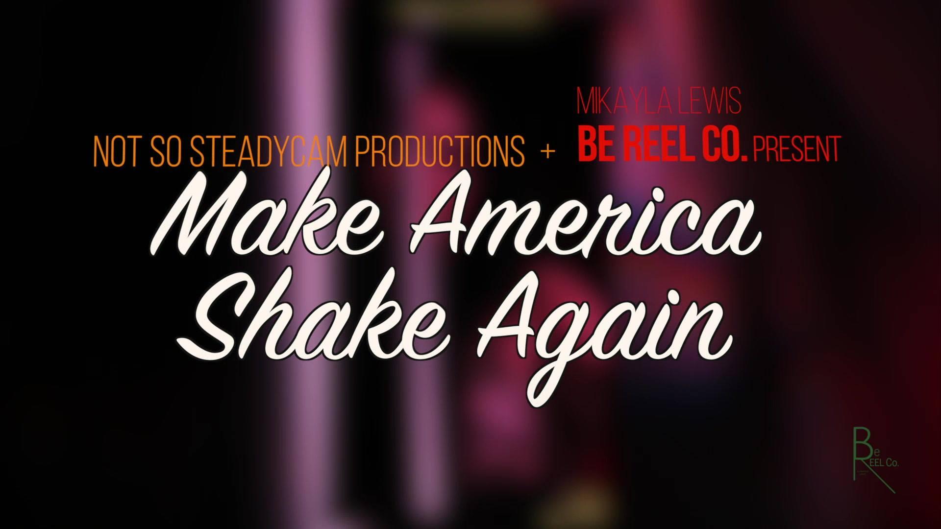 KIM COLLINS: #MakeAmericaShakeAgain 2018