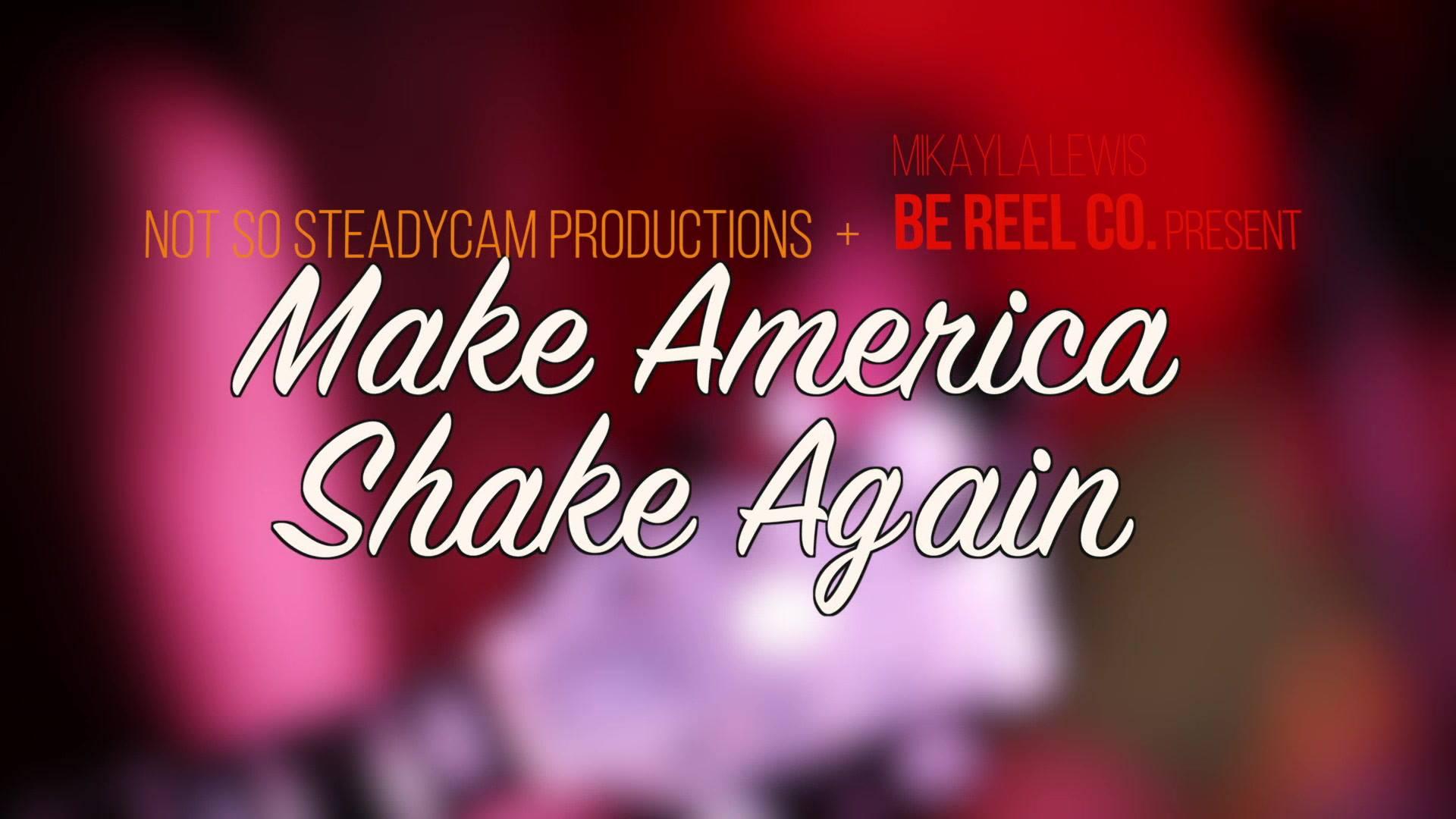 LILLY WINWOOD: #MakeAmericaShakeAgain