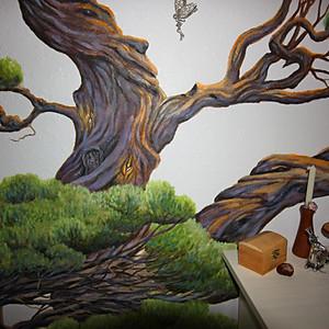 Norway Tree Murals