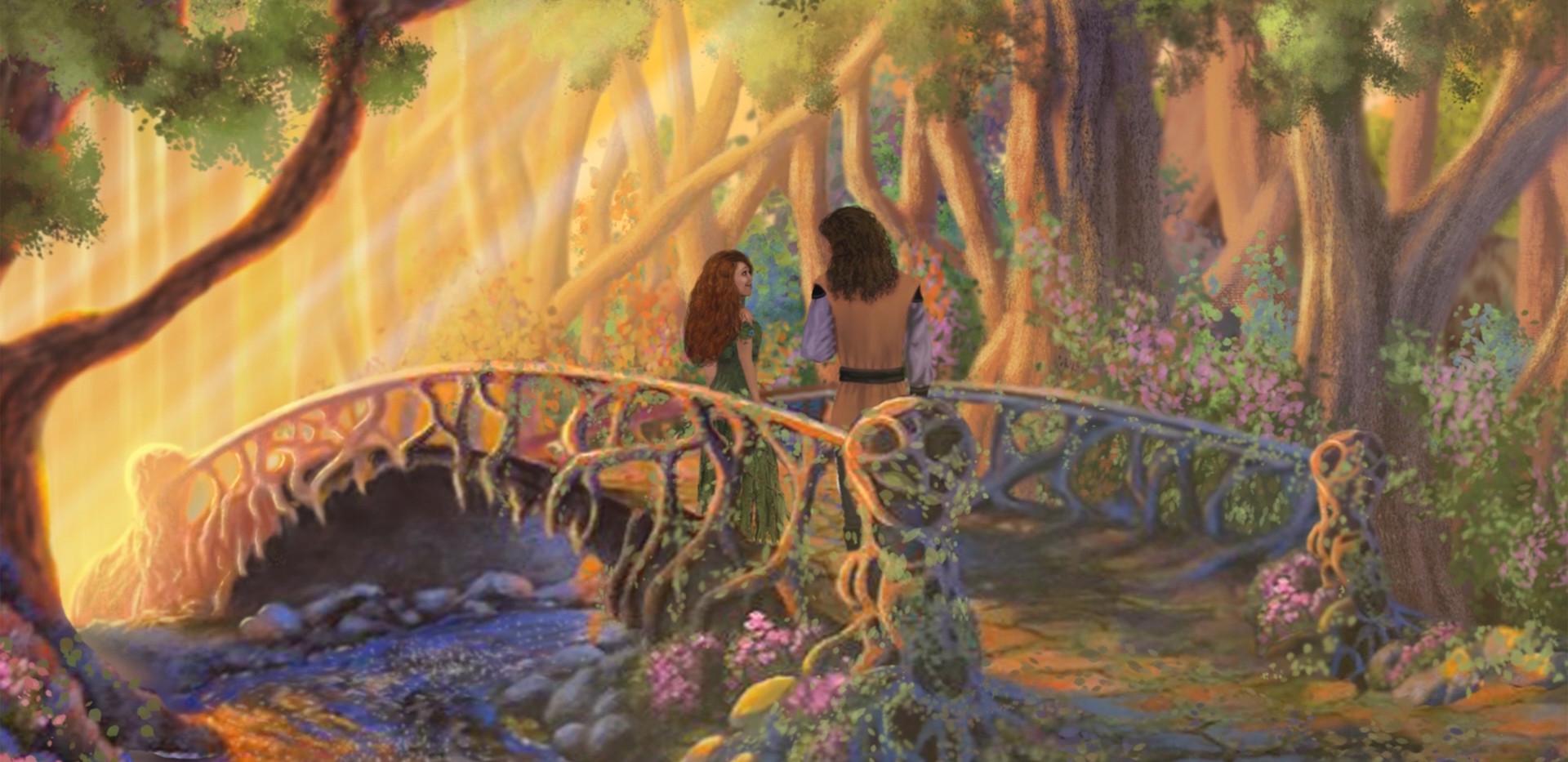 Mila and Varlahm on the Bridge