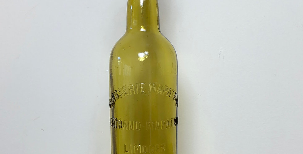 French beer bottle