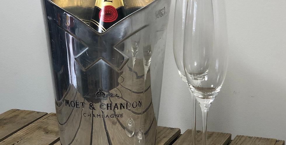 Moet champagne bucket