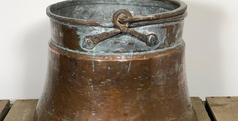 Copper cauldron pot 2