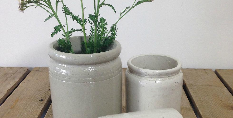 Stoneware pots