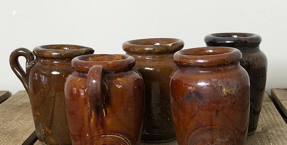 Stoneware pots & jugs