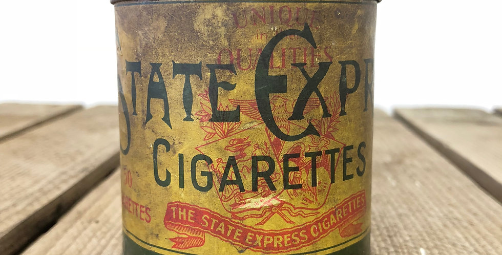 Edwardian-era cigarette tin