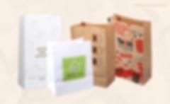 Customizing kraft grocery bags wholesale