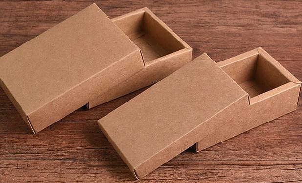 brown Krat boxes with lids wholesale
