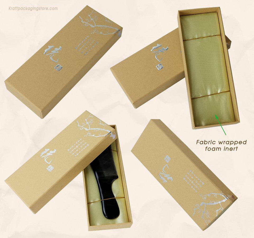 Rigid cardboard setup top and bottom box