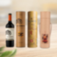 Custom wine packaging tube boxes