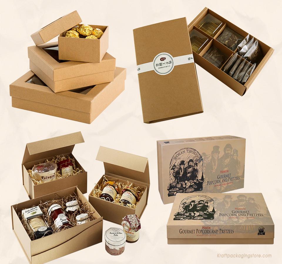 Kraft gourmet boxes