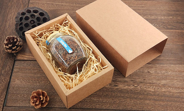 kraft paper drawer box for gift packing