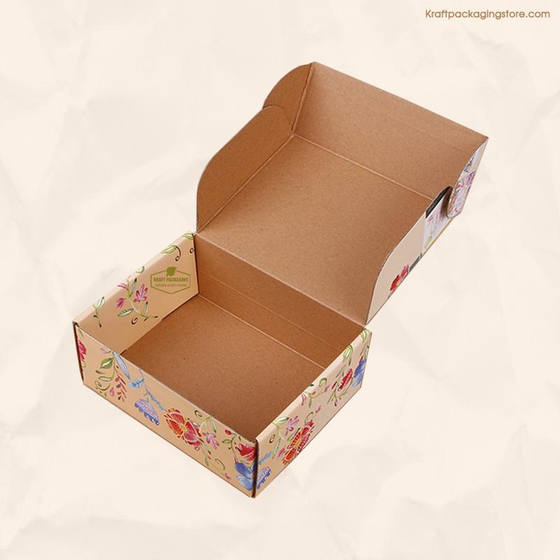 Kraft board mailer box custom made