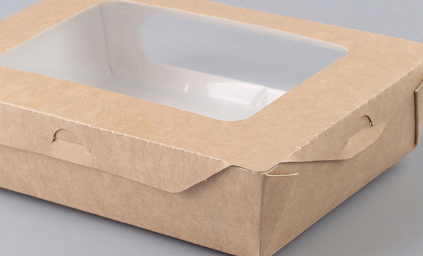 Big window Kraft take out salad containers