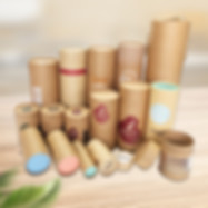 Custom kraft cardboard tubes packaging boxes