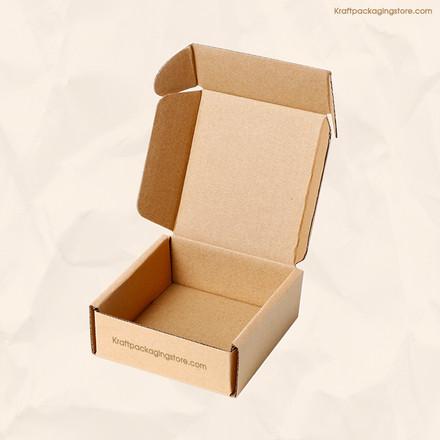 kraft easy fold mailer boxes