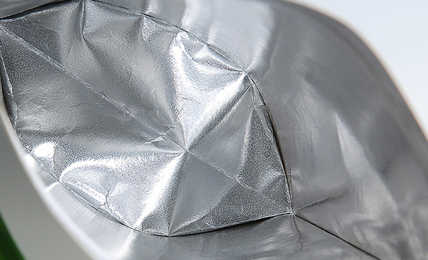 kraft pouch bags with aluminum foil inside