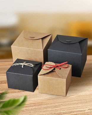 Special designed Kraft gift box for candies