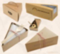 Kraft cake slice boxes