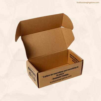 Customized corrugated boxes kraft mailer
