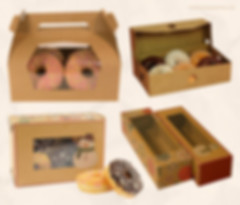 Kraft donut boxes