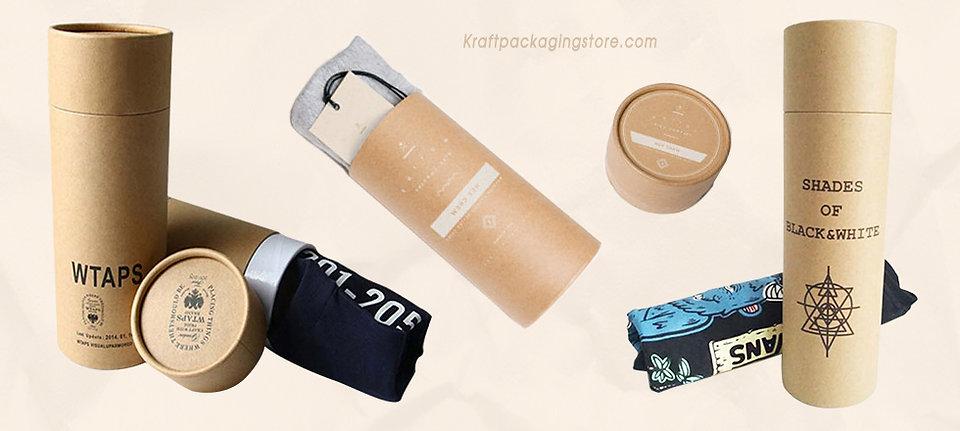 Kraft paper cardboard T-shirt apparel packaging
