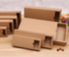 Slide Drawer style Kraft Boxes