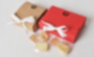 Ribbon closure cheap Kraft bulk favor boxes
