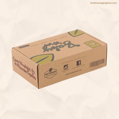 Flexo printed custom subscription box