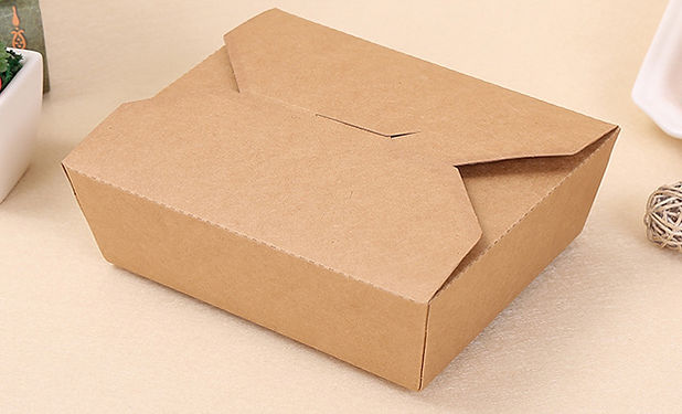 Standard Kraft paper fast food take out boxes