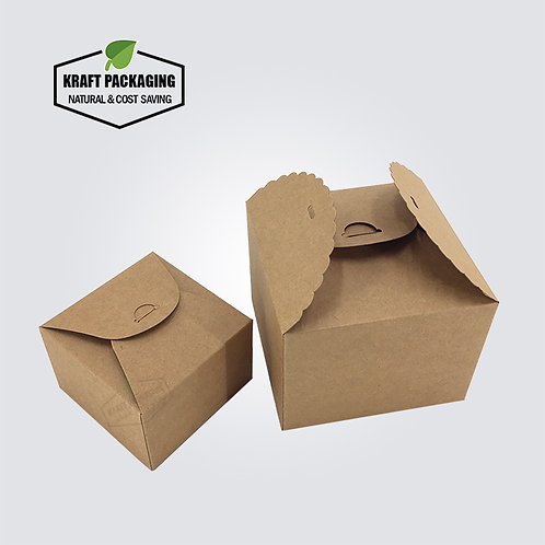 Special designed BROWN Kraft candy cookie boxes gift packaging