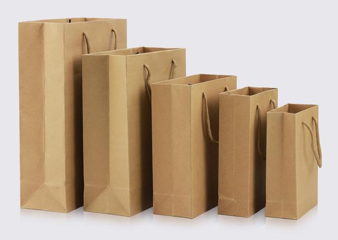Rope handle paper bags wholesale