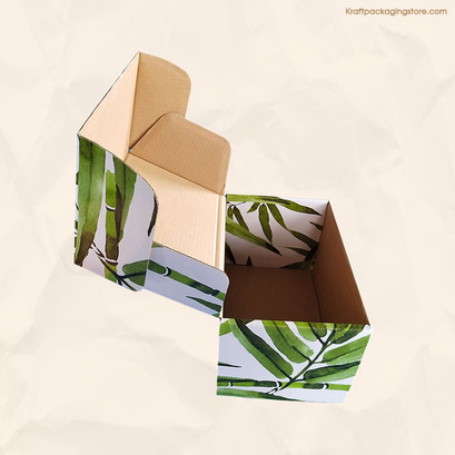 Personalized printed Kraft mailer boxes