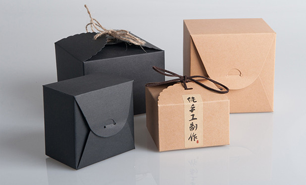 Kraft paper candy boxes packaging