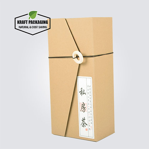 Special Designed Sliding Cover Kraft Gift Boxes Packaging