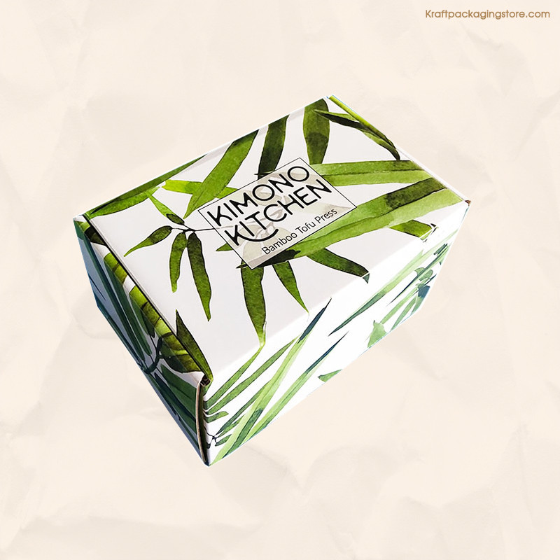 Custom printing Kraft folding boxes